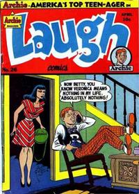 Cover Thumbnail for Laugh Comics (Archie, 1946 series) #26
