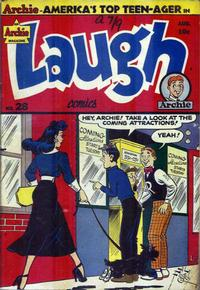 Cover Thumbnail for Laugh Comics (Archie, 1946 series) #28
