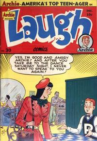 Cover Thumbnail for Laugh Comics (Archie, 1946 series) #30