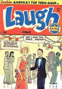 Cover Thumbnail for Laugh Comics (Archie, 1946 series) #34
