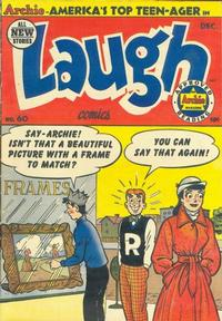 Cover Thumbnail for Laugh Comics (Archie, 1946 series) #60