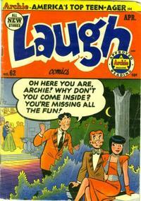 Cover Thumbnail for Laugh Comics (Archie, 1946 series) #62