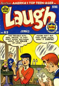 Cover Thumbnail for Laugh Comics (Archie, 1946 series) #63