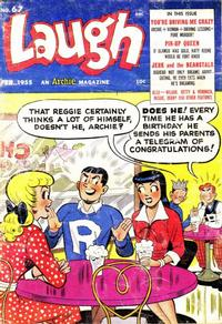 Cover Thumbnail for Laugh Comics (Archie, 1946 series) #67