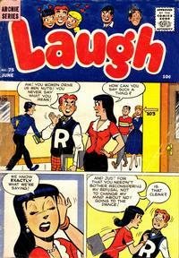 Cover Thumbnail for Laugh Comics (Archie, 1946 series) #75