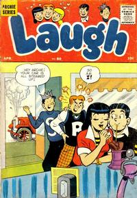 Cover Thumbnail for Laugh Comics (Archie, 1946 series) #80