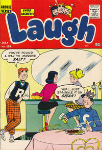 Cover Thumbnail for Laugh Comics (Archie, 1946 series) #124