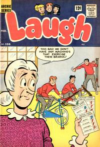 Cover Thumbnail for Laugh Comics (Archie, 1946 series) #155
