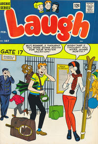 Cover for Laugh Comics (Archie, 1946 series) #167