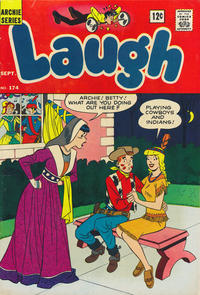 Cover Thumbnail for Laugh Comics (Archie, 1946 series) #174
