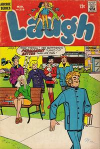 Cover Thumbnail for Laugh Comics (Archie, 1946 series) #216