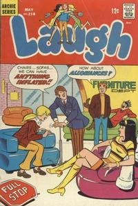 Cover Thumbnail for Laugh Comics (Archie, 1946 series) #218