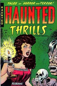 Cover Thumbnail for Haunted Thrills (Farrell, 1952 series) #1