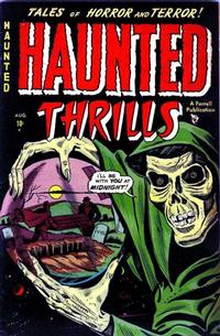 Cover Thumbnail for Haunted Thrills (Farrell, 1952 series) #2