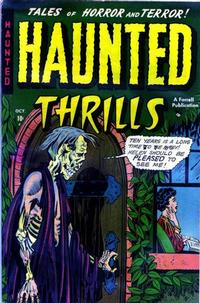 Cover Thumbnail for Haunted Thrills (Farrell, 1952 series) #3
