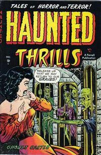 Cover Thumbnail for Haunted Thrills (Farrell, 1952 series) #4