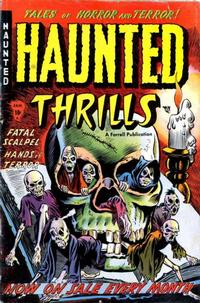 Cover Thumbnail for Haunted Thrills (Farrell, 1952 series) #5