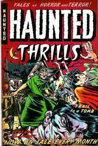 Cover Thumbnail for Haunted Thrills (Farrell, 1952 series) #7