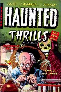 Cover Thumbnail for Haunted Thrills (Farrell, 1952 series) #8