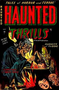 Cover Thumbnail for Haunted Thrills (Farrell, 1952 series) #9