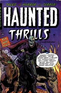 Cover Thumbnail for Haunted Thrills (Farrell, 1952 series) #10