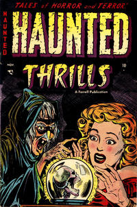 Cover Thumbnail for Haunted Thrills (Farrell, 1952 series) #12