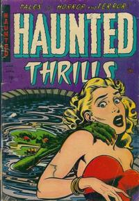 Cover Thumbnail for Haunted Thrills (Farrell, 1952 series) #14