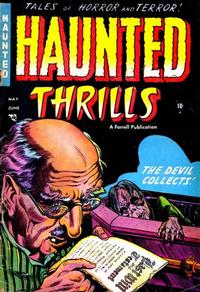 Cover Thumbnail for Haunted Thrills (Farrell, 1952 series) #15