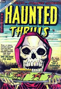 Cover Thumbnail for Haunted Thrills (Farrell, 1952 series) #18