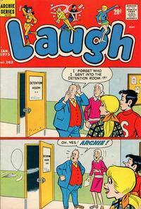 Cover Thumbnail for Laugh Comics (Archie, 1946 series) #262