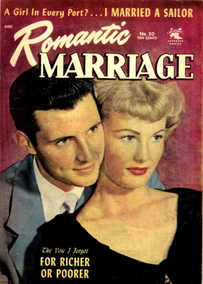 Cover for Romantic Marriage (St. John, 1953 series) #20
