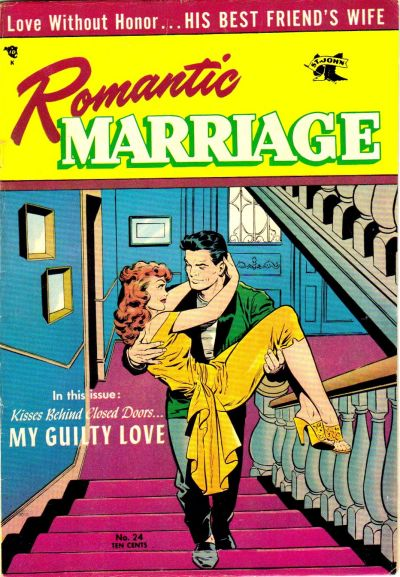Cover for Romantic Marriage (St. John, 1953 series) #24