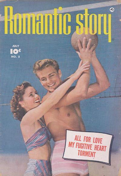 Cover for Romantic Story (Fawcett, 1949 series) #5