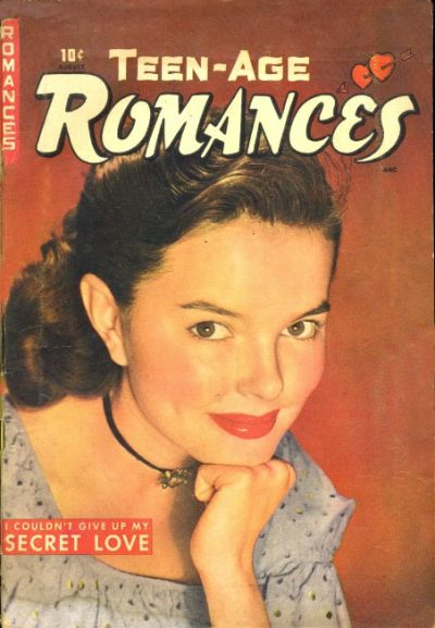 Cover for Teen-Age Romances (St. John, 1949 series) #4