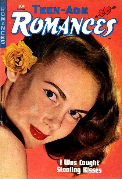 Cover for Teen-Age Romances (St. John, 1949 series) #6