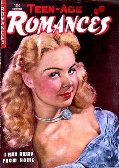 Cover for Teen-Age Romances (St. John, 1949 series) #7