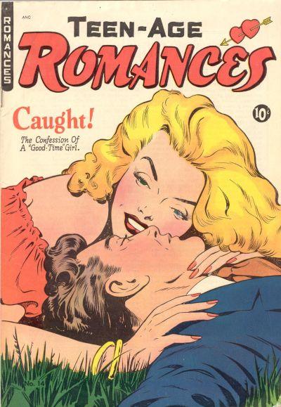 Cover for Teen-Age Romances (St. John, 1949 series) #14