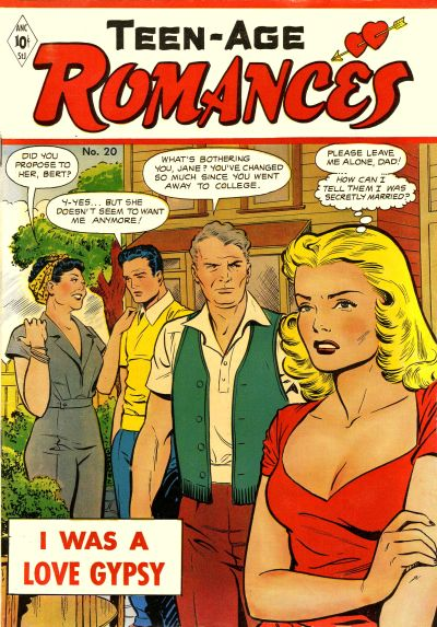 Cover for Teen-Age Romances (St. John, 1949 series) #20