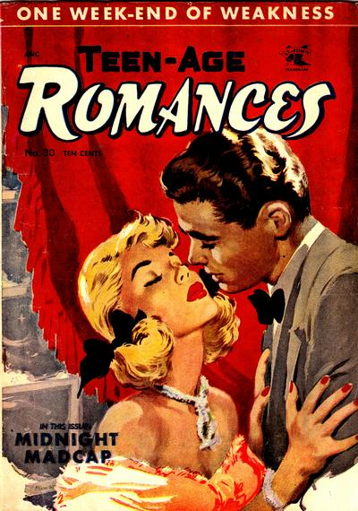 Cover for Teen-Age Romances (St. John, 1949 series) #30