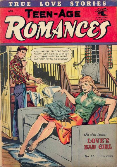 Cover for Teen-Age Romances (St. John, 1949 series) #36
