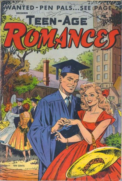 Cover for Teen-Age Romances (St. John, 1949 series) #40