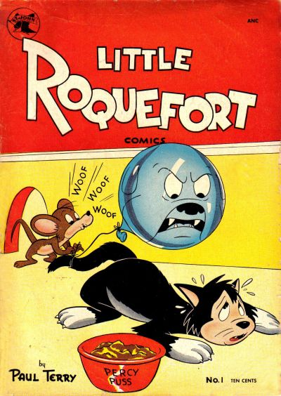 Cover for Little Roquefort Comics (St. John, 1952 series) #1