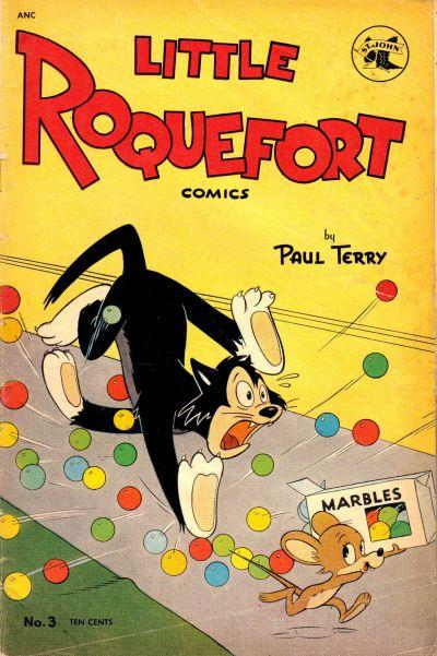 Cover for Little Roquefort Comics (St. John, 1952 series) #3