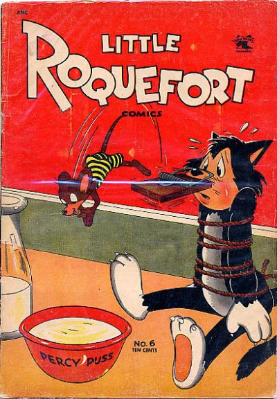Cover for Little Roquefort Comics (St. John, 1952 series) #6