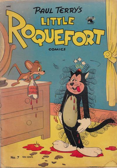Cover for Little Roquefort Comics (St. John, 1952 series) #7