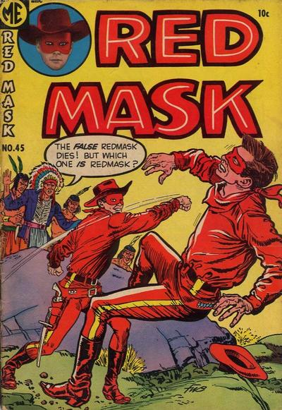 Cover for Red Mask (Magazine Enterprises, 1954 series) #45