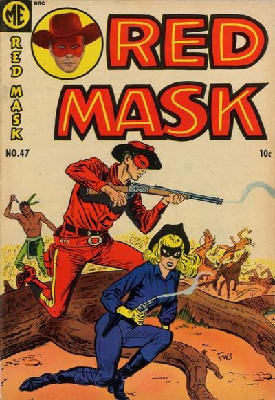 Cover for Red Mask (Magazine Enterprises, 1954 series) #47