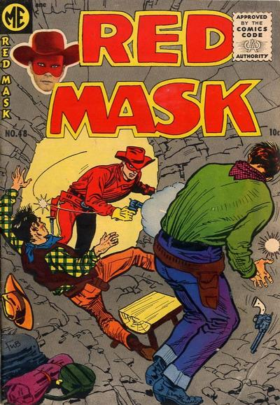 Cover for Red Mask (Magazine Enterprises, 1954 series) #48