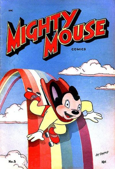 Cover for Mighty Mouse (St. John, 1947 series) #5