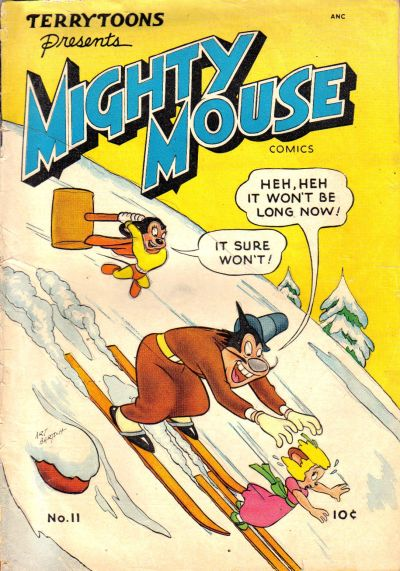 Cover for Mighty Mouse (St. John, 1947 series) #11